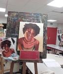 Portraits de femmes à la manière de Titouan Lamazou